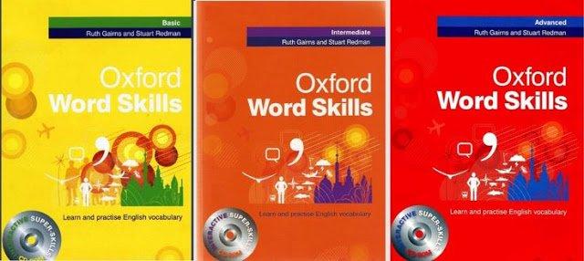 سلسلة Oxford Word Skills لتعلم مفردات ومهارات اللغة الإنجليزية من الصفر